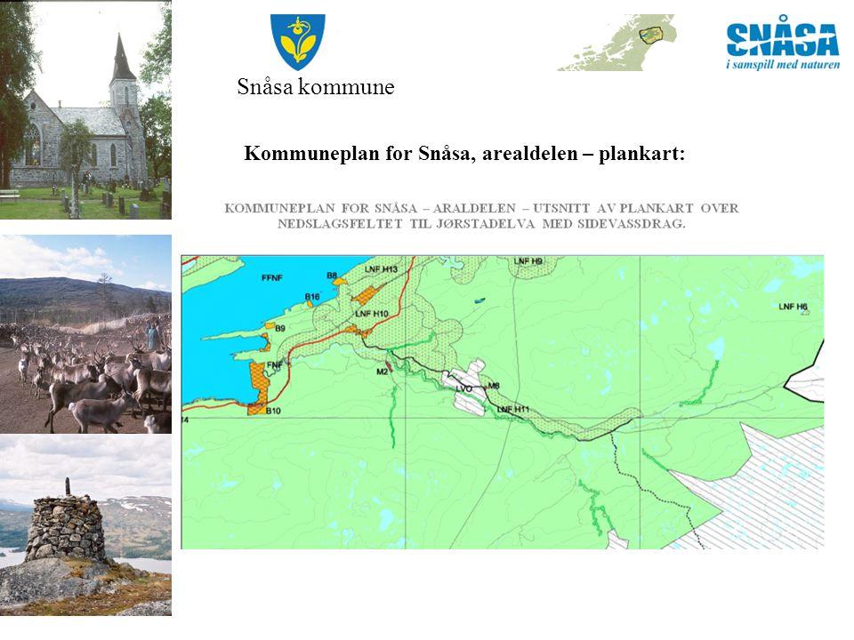 Snåsa kommune Kommuneplan for Snåsa, arealdelen – plankart: