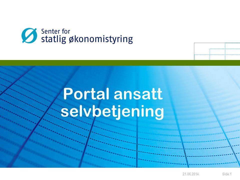 Portal ansatt selvbetjening
