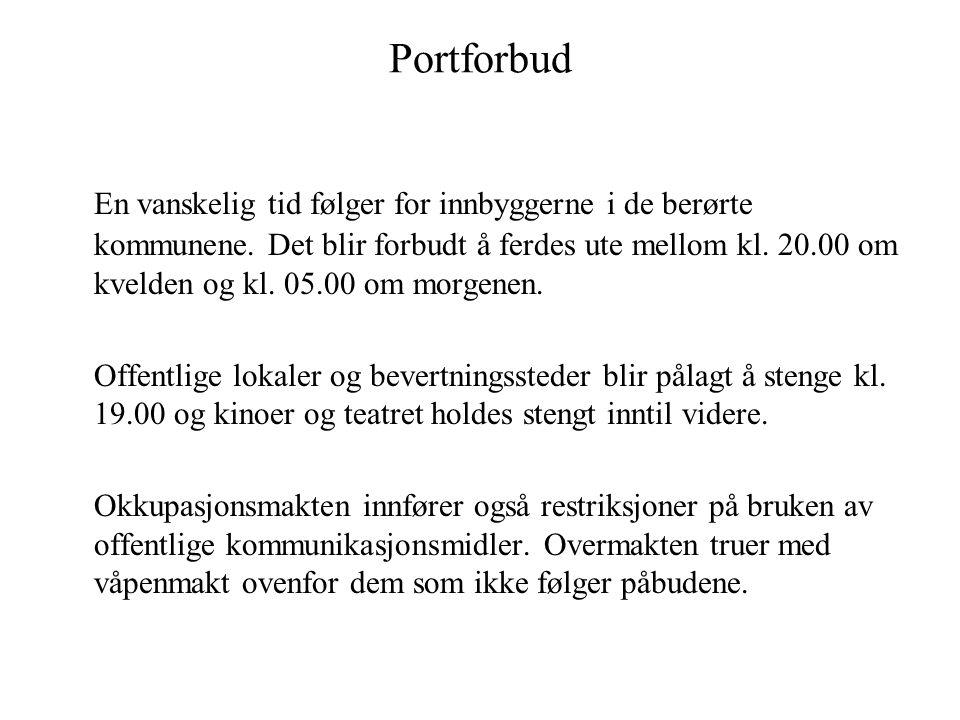 Portforbud