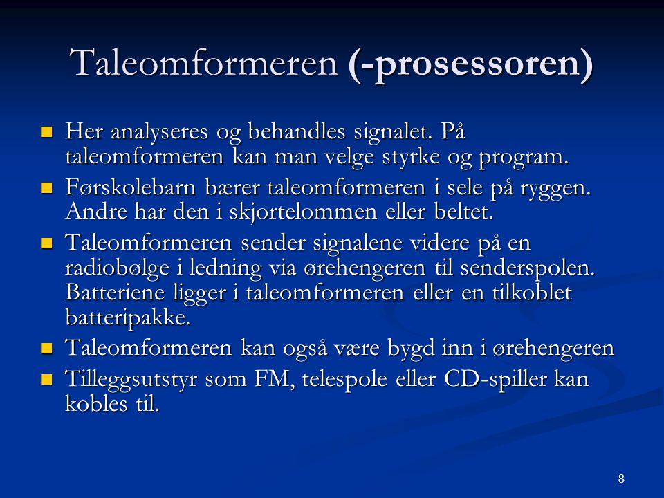 Taleomformeren (-prosessoren)