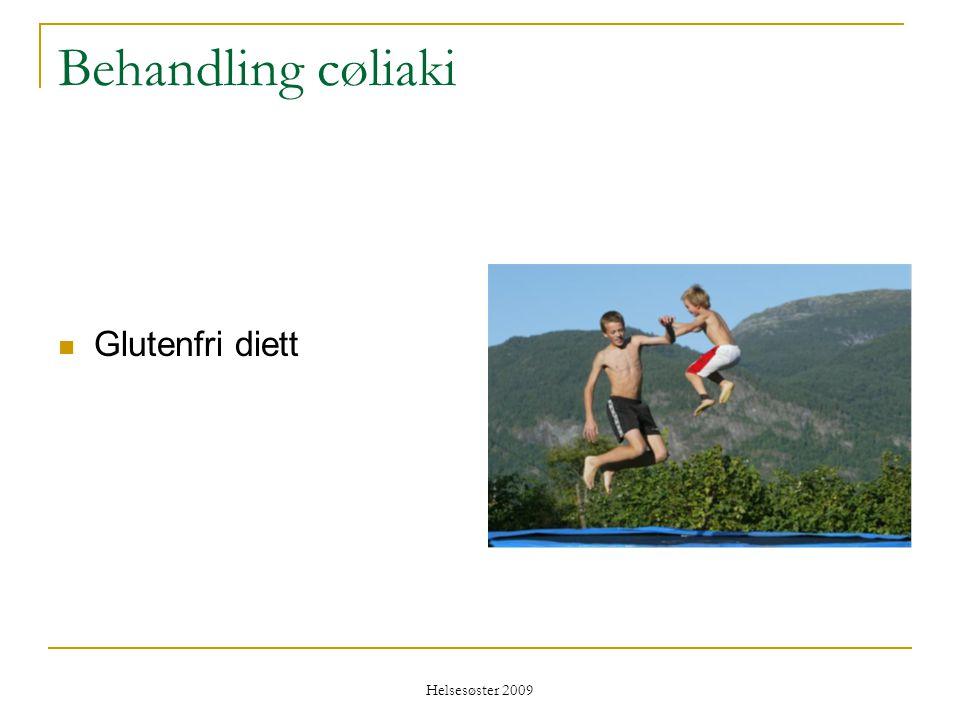 Behandling cøliaki Glutenfri diett Helsesøster 2009