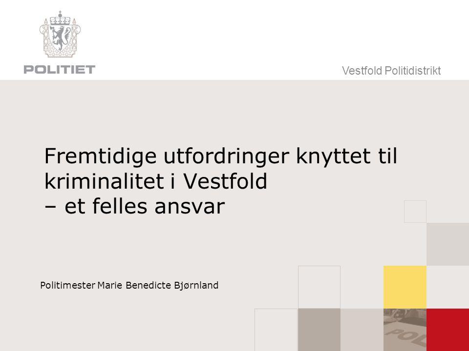 Politimester Marie Benedicte Bjørnland