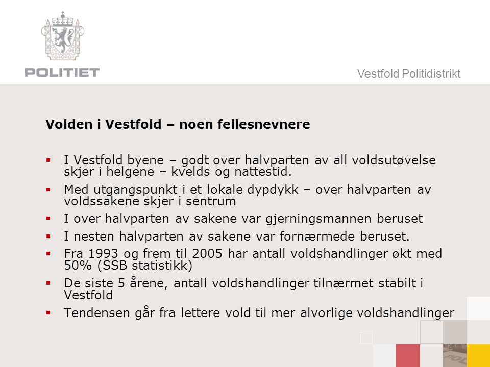 Volden i Vestfold – noen fellesnevnere