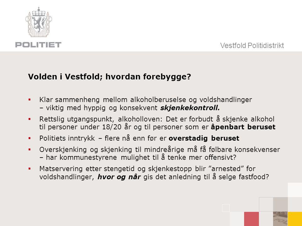 Volden i Vestfold; hvordan forebygge