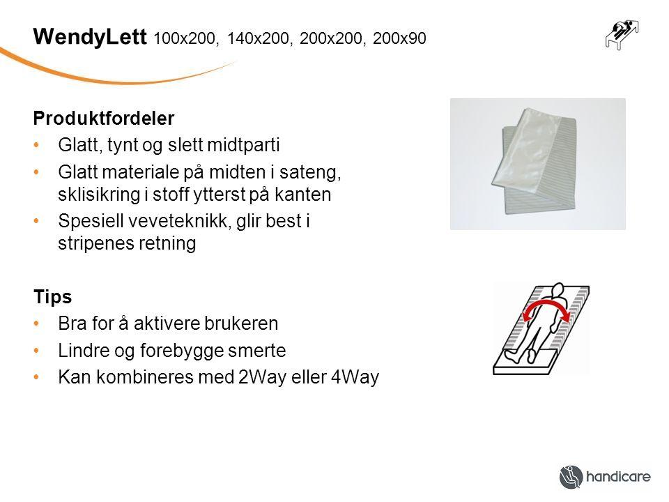 WendyLett 100x200, 140x200, 200x200, 200x90 Produktfordeler