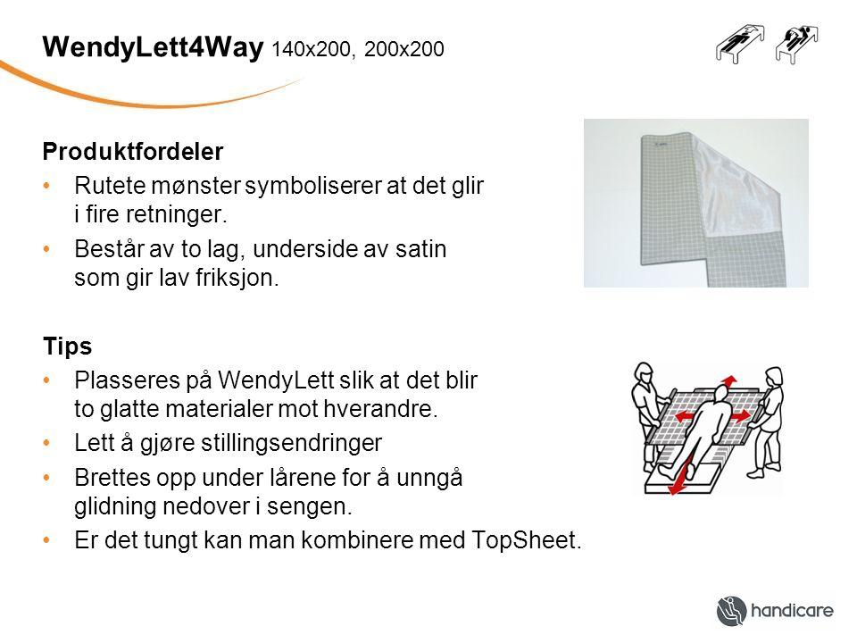 WendyLett4Way 140x200, 200x200 Produktfordeler
