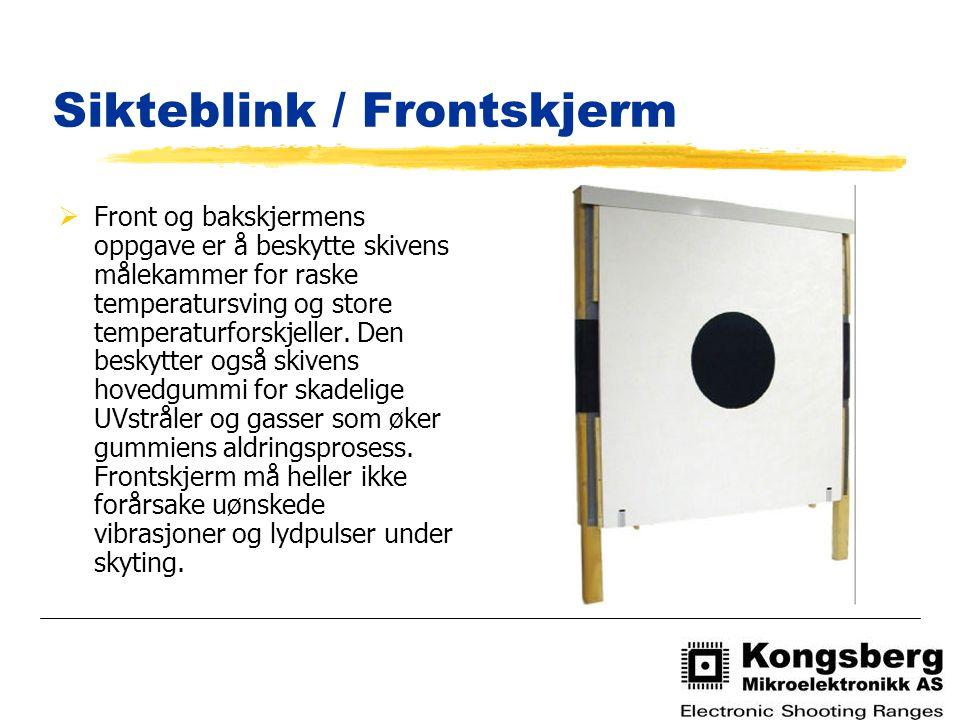 Sikteblink / Frontskjerm