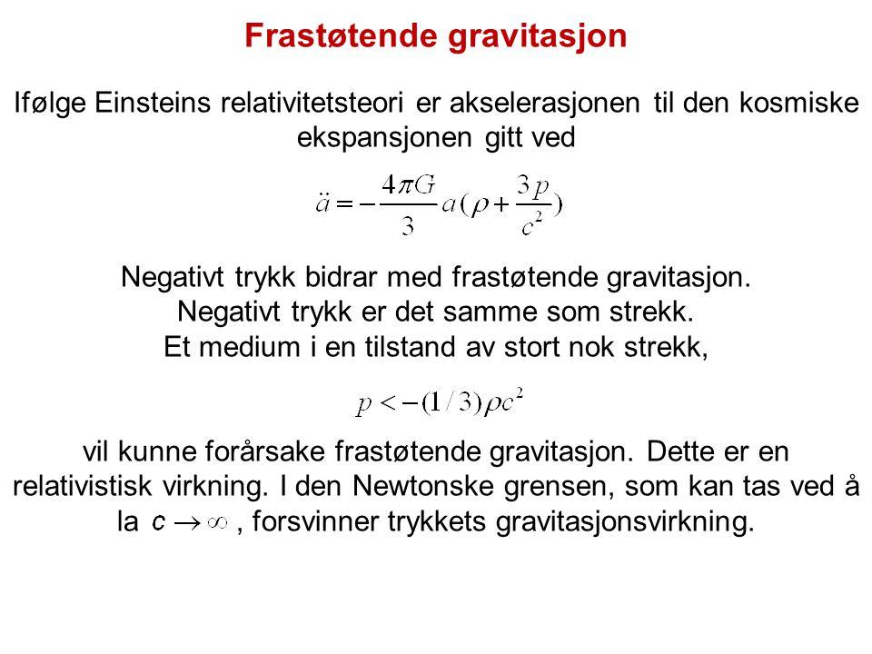 Frastøtende gravitasjon