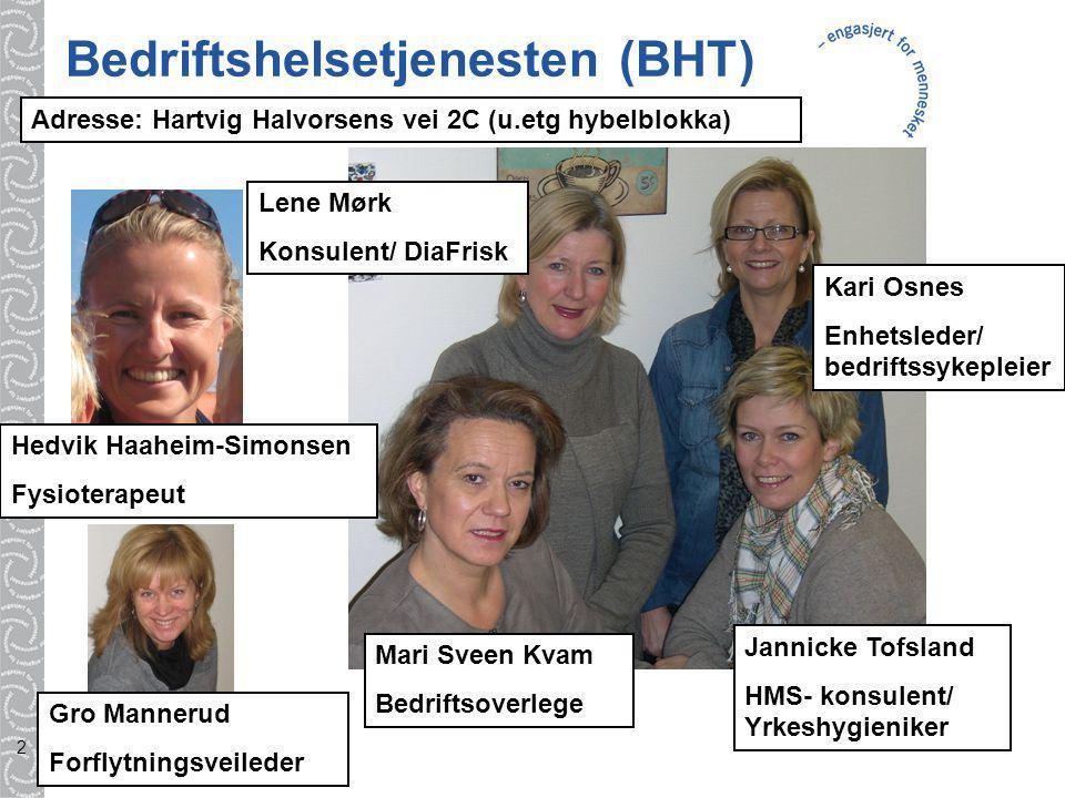 Bedriftshelsetjenesten (BHT)