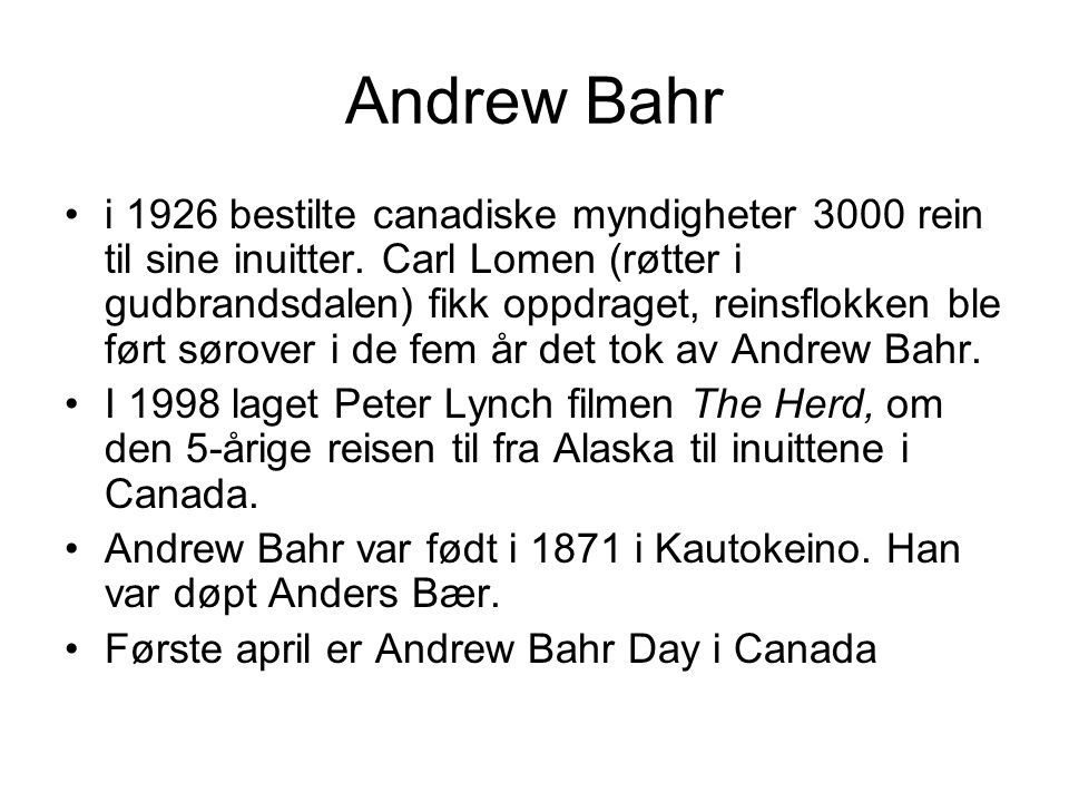 Andrew Bahr