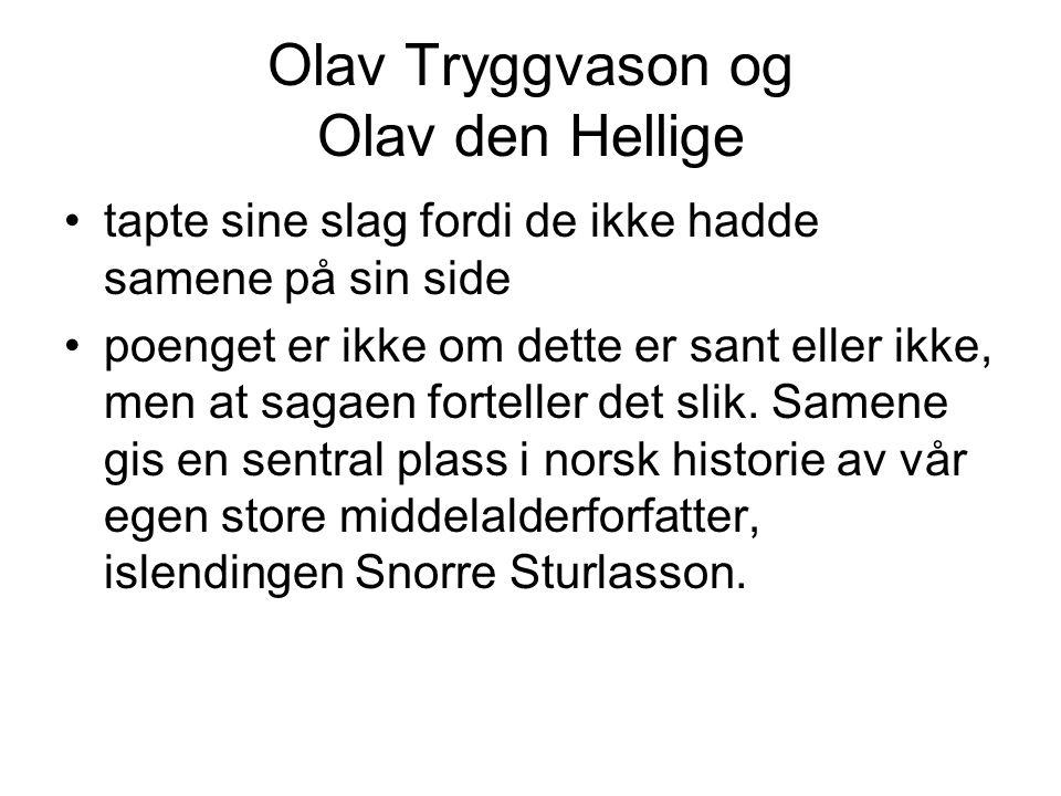 Olav Tryggvason og Olav den Hellige