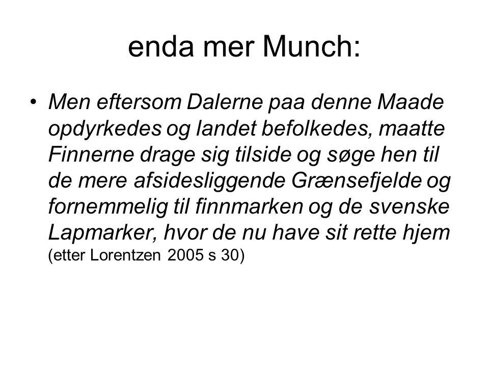 enda mer Munch: