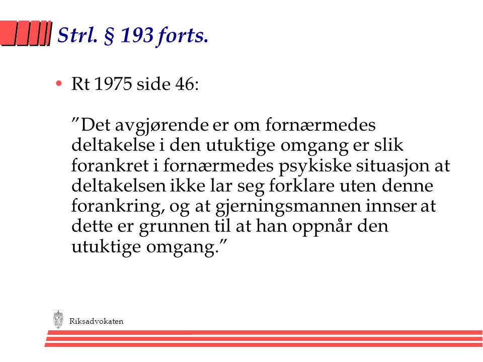 Strl. § 193 forts.