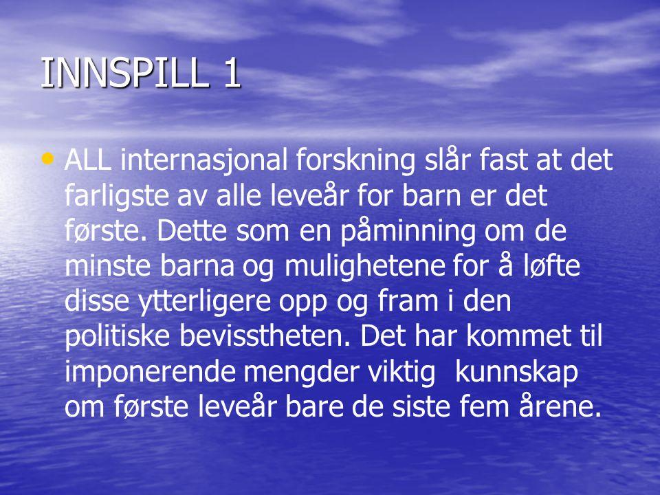 INNSPILL 1