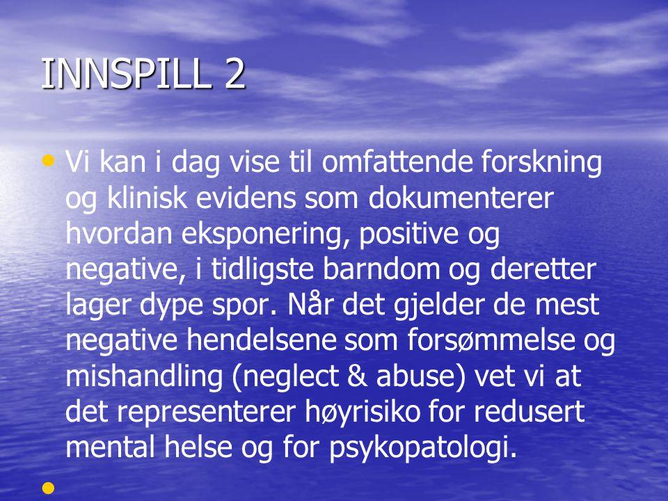 INNSPILL 2