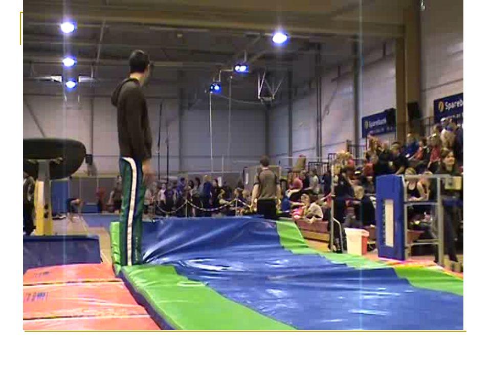 Ankel og kneskader Tren landingsteknikk – saltoer fra stor høyde på fast landingsunderlag. Fokus på fleksjon i hofte, kne ankel.