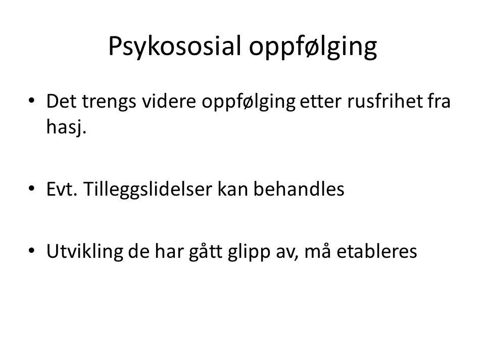 Psykososial oppfølging