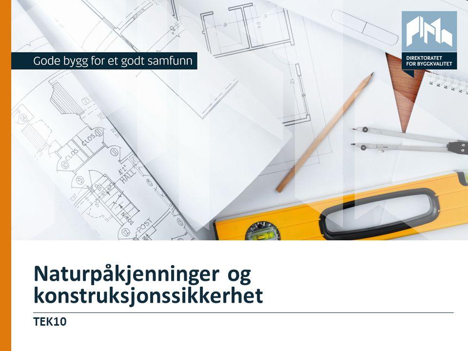 Naturpåkjenninger og konstruksjonssikkerhet