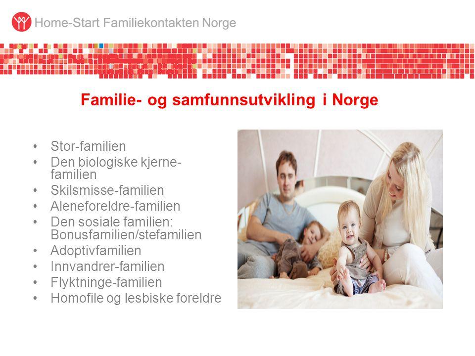 Familie- og samfunnsutvikling i Norge