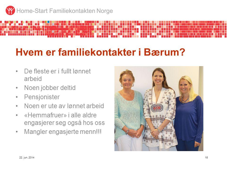 Hvem er familiekontakter i Bærum