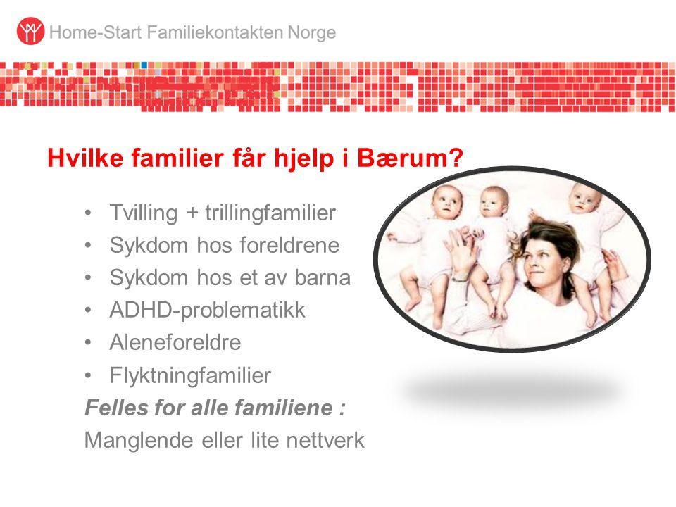 Hvilke familier får hjelp i Bærum