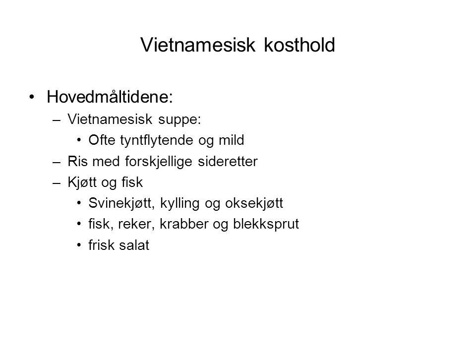Vietnamesisk kosthold