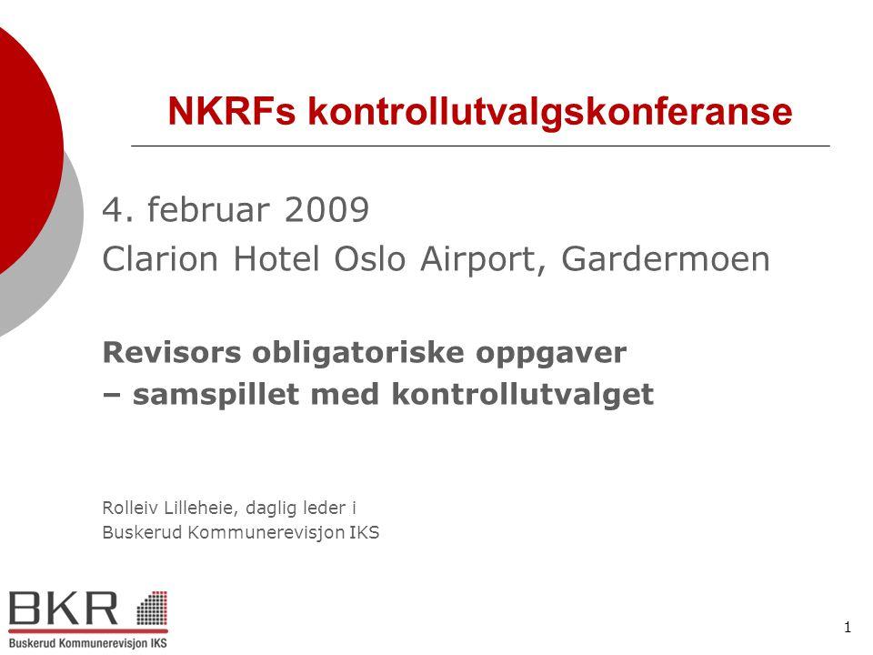 NKRFs kontrollutvalgskonferanse