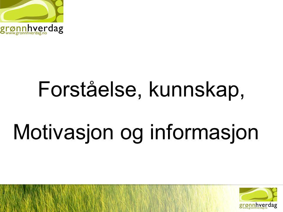 Motivasjon og informasjon