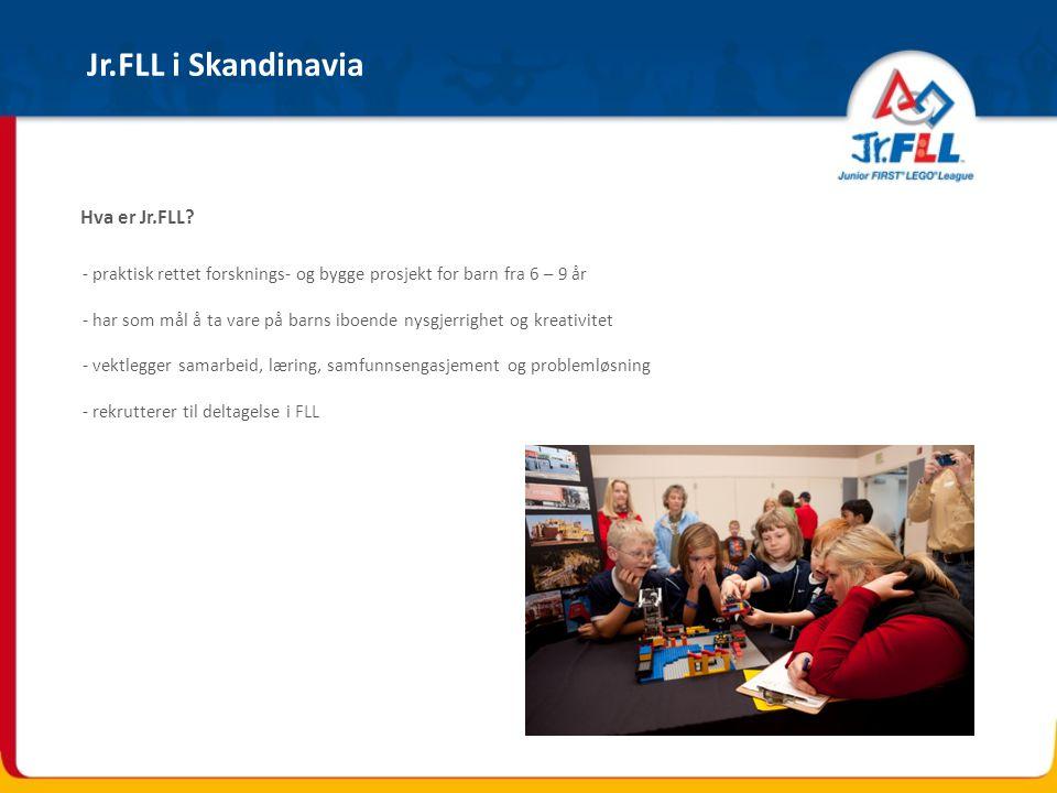 Jr.FLL i Skandinavia Hva er Jr.FLL