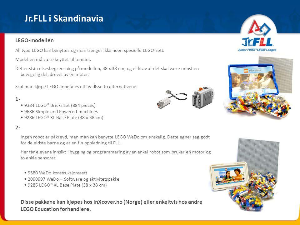 Jr.FLL i Skandinavia LEGO-modellen 1- 2-