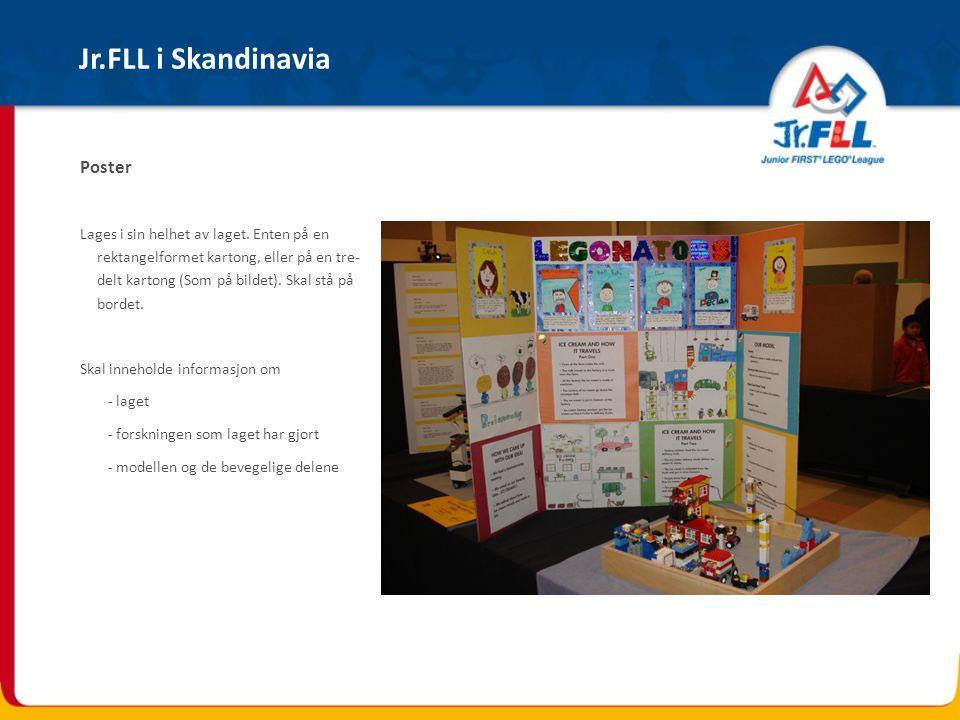 Jr.FLL i Skandinavia Poster