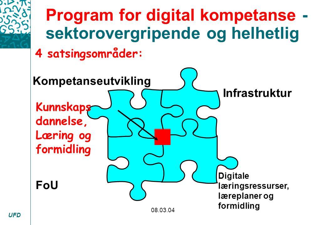 Program for digital kompetanse - sektorovergripende og helhetlig