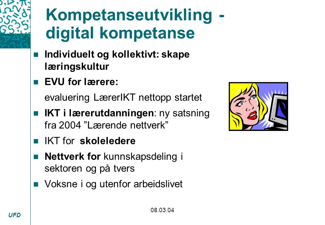 Kompetanseutvikling - digital kompetanse
