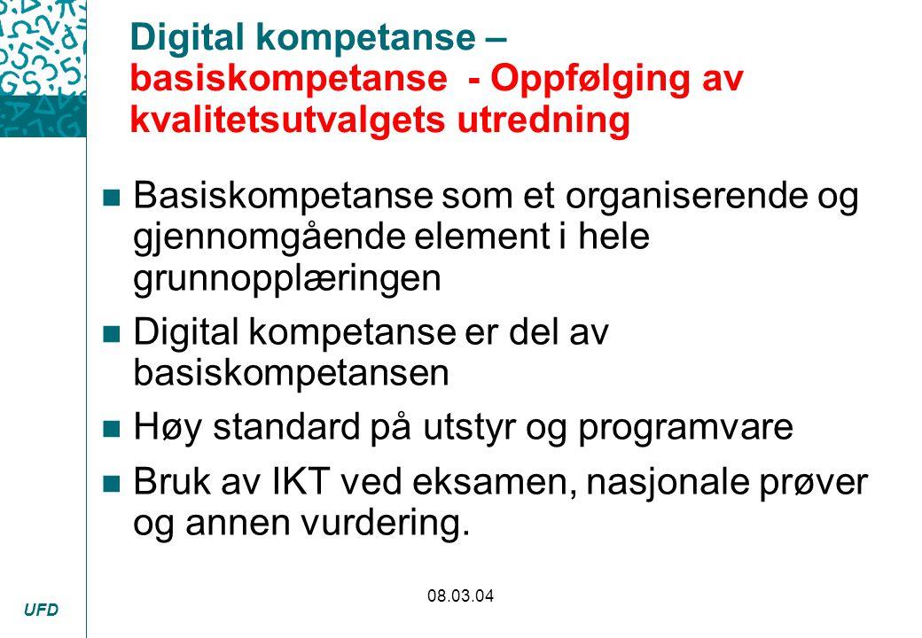Digital kompetanse er del av basiskompetansen