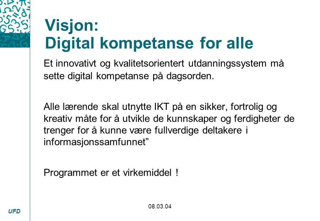 Visjon: Digital kompetanse for alle