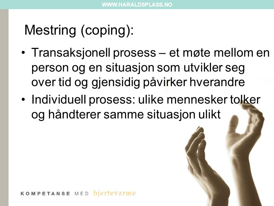 Mestring (coping):