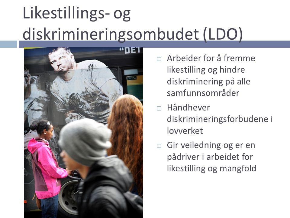 Likestillings- og diskrimineringsombudet (LDO)