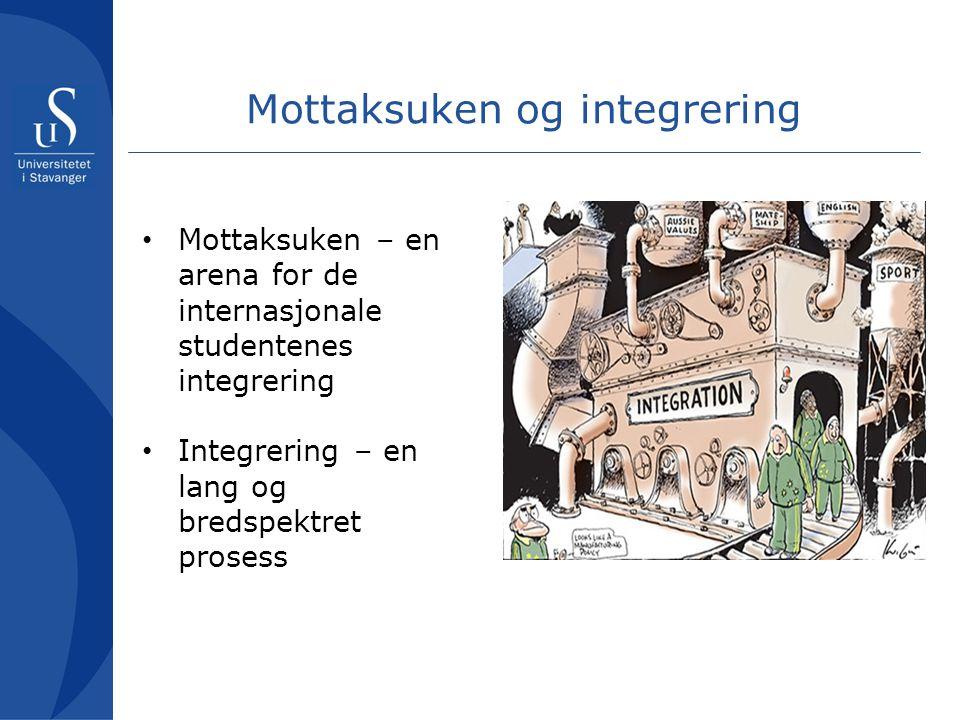 Mottaksuken og integrering