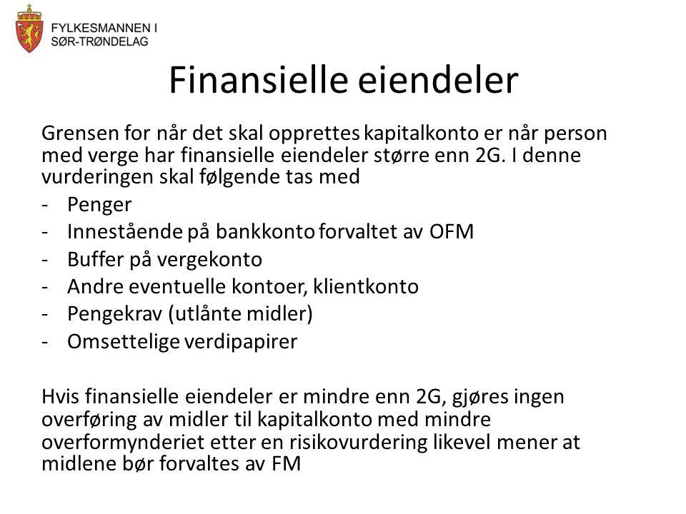 Finansielle eiendeler