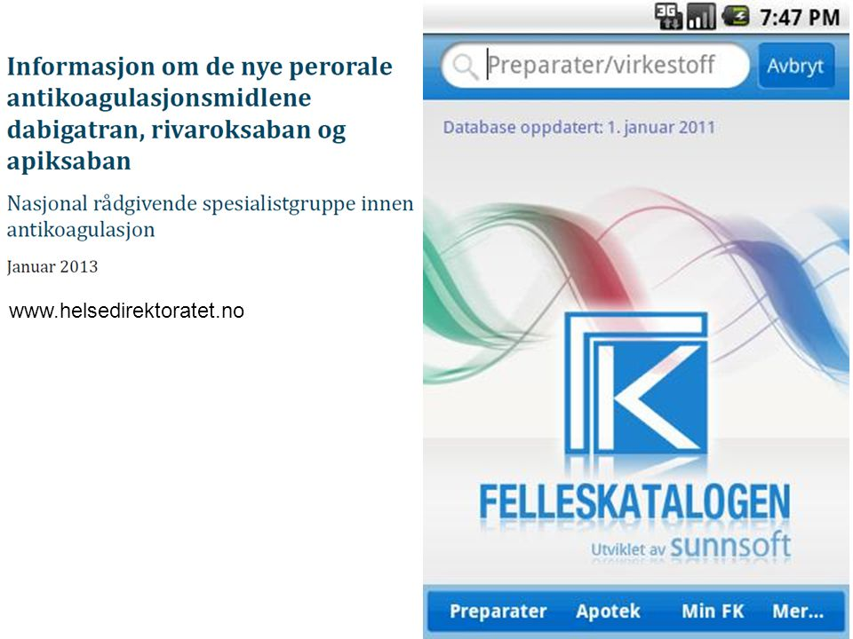 www.helsedirektoratet.no