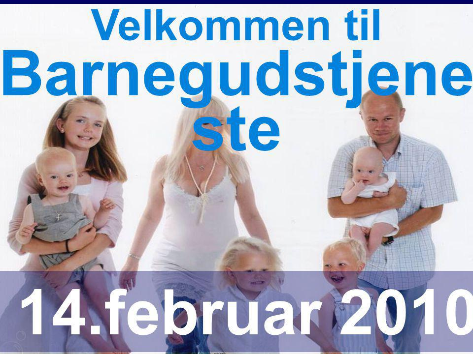 Barnegudstjeneste 14.februar 2010