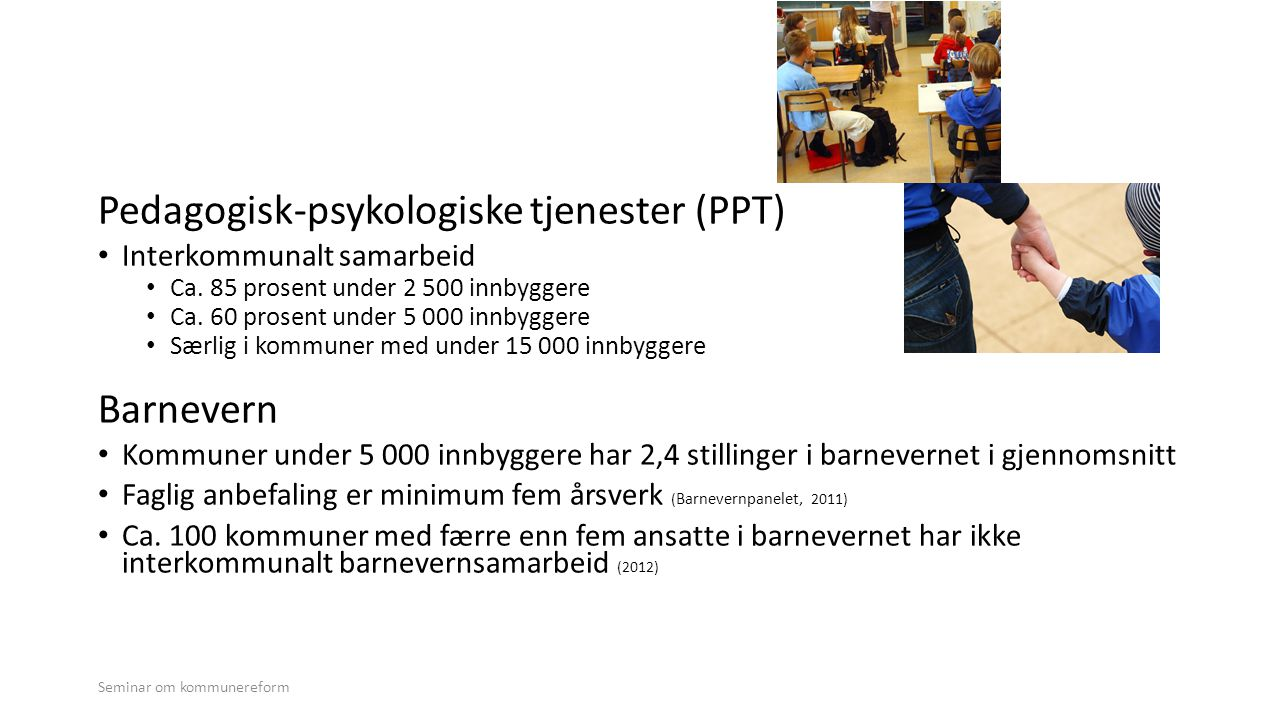 Pedagogisk-psykologiske tjenester (PPT)