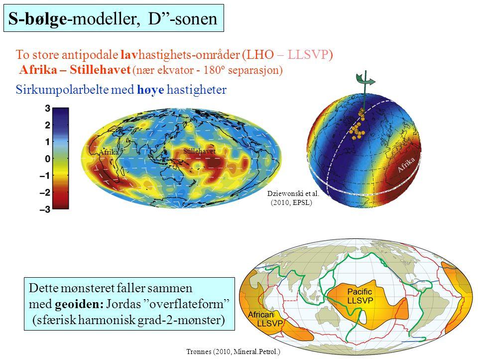 S-bølge-modeller, D -sonen