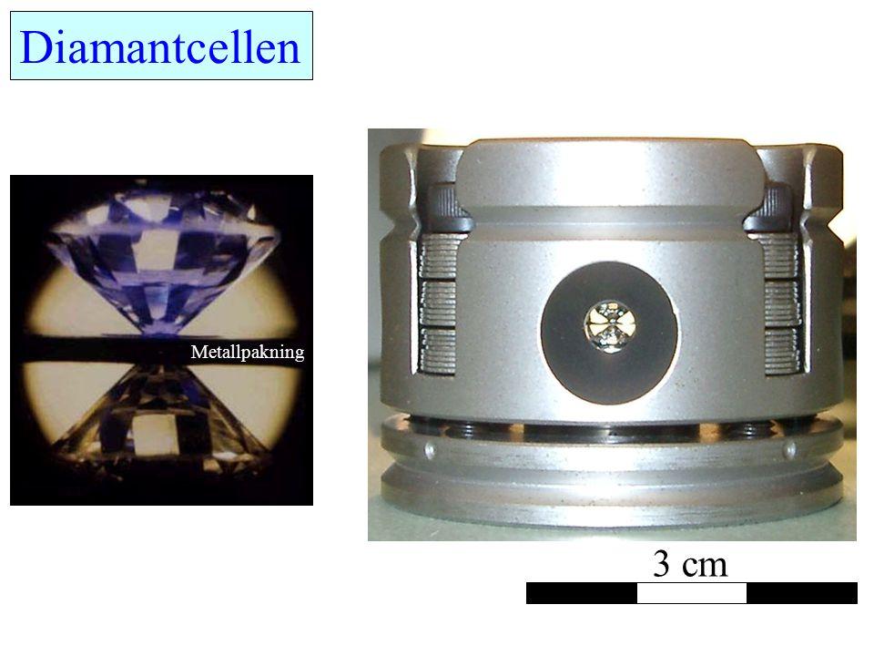 Diamantcellen Metallpakning 3 cm