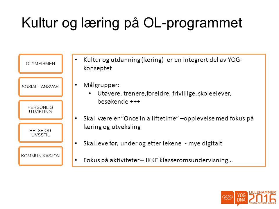 Kultur og læring på OL-programmet