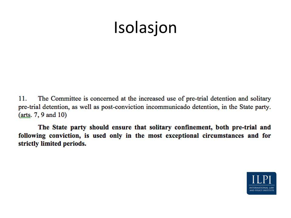 Isolasjon