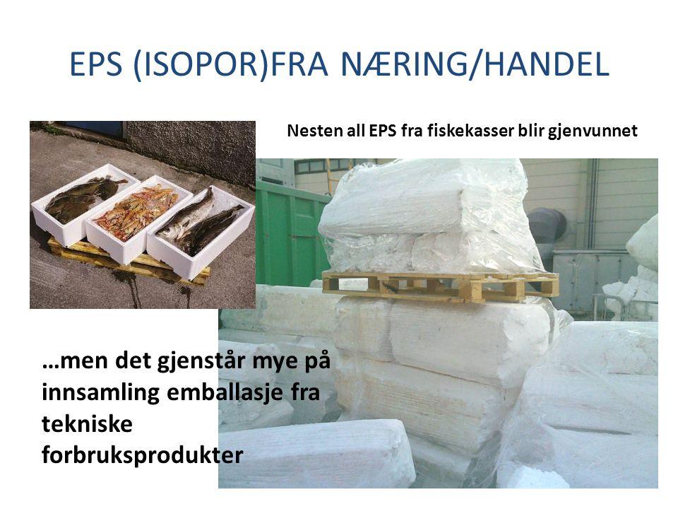 EPS (ISOPOR)FRA NÆRING/HANDEL