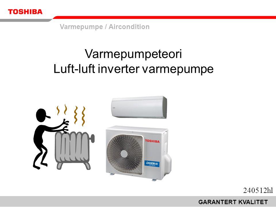 Varmepumpeteori Luft-luft inverter varmepumpe