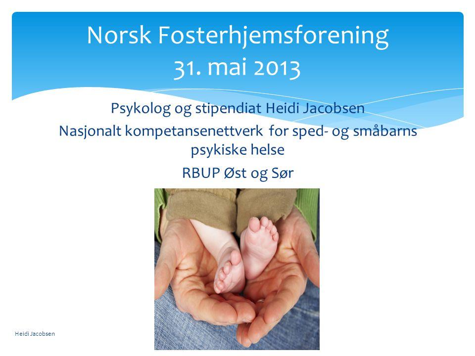 Norsk Fosterhjemsforening 31. mai 2013