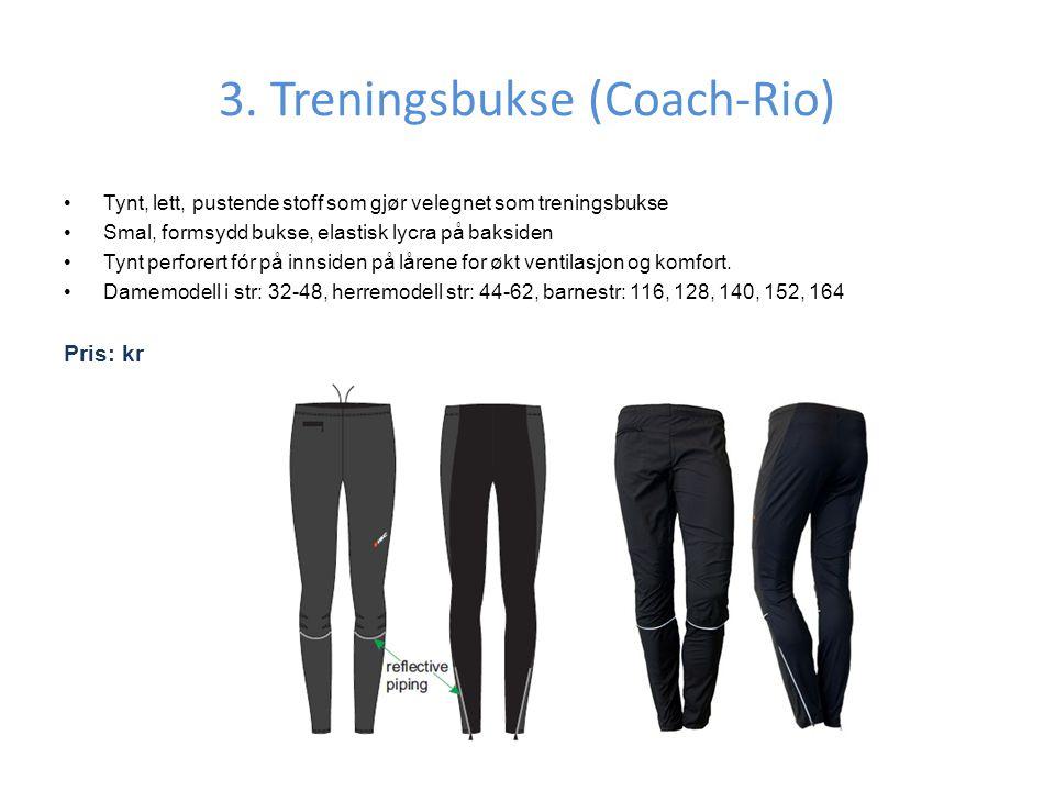 3. Treningsbukse (Coach-Rio)